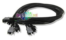 "Evercool Model EC-DF001 17.72"" PWM Fan Splitter Run Multiple 4 pin fans!"
