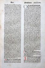 9. DEUTSCHE BIBEL BIBLIA GERMANICA INKUNABEL PROPHETEN WEISSAGUNG KOBERGER 1483