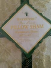 "Waterford Linens Carina Linden Green 26"" x 26"" One European Pillow Sham"