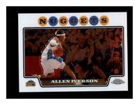 2008-09 Topps Chrome Denver Nuggets Basketball Card #3 Allen Iverson NM-MT