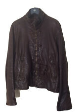 Reiss Mens Brown Leather Jacket