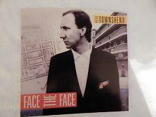 """PETE TOWNSHEND """"FACE THE FACE""""  PICTURE SLEEVE! BRAND NEW! ONLY NEW COPY ON eBAY"""