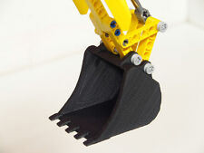 Excavator Bucket for Lego Technic: 8043 42006 8294 42053 (Baggerschaufel)