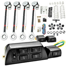 4 Car Window Power Kit For Ford F-350 F450 F-550 Super Duty Fiesta Flex Focus