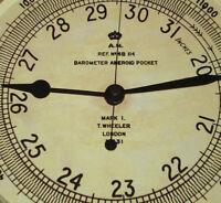 Royal Air Force WW2 Air Ministry Altimeter, Souvenir Vintage Style Wall Clock.