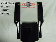 Vivid Black REAR FENDER STRETCHED EXTENSION / FILLER 2009-Present Touring