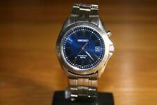 Un orologio SEIKO KINETIC Braccialetto 5M62-0AV0 condizione di bello, lavorando bene lot198