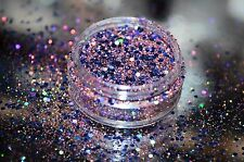 "Exclusive Bizzy Nails Cosmetic Glitter Nail Art Midnight Love ""LIMITED EDITION"""