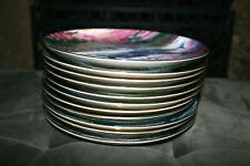 Vtg 1991 Set of 11 Danbury Mint Underwater Paradise Plates Robert Lyn Nelson