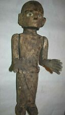 "Sale! Sulawesi Tau Tau Ancestor Crypt Figure, Bone Eyes, 25"" Prov"