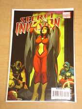 SECRET INVASION #6 MARVEL VARIANT EDITION 2008 CAPTAIN AMERICA SPIDERWOMAN