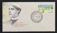 AUSTRALIA 1984 CHARLES CONDOR PAINTINGS ARTIST FIRST DAY COVER FDC UNADDRESSED
