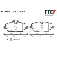 FTE BL1938A4 Bremsbeläge Bremsbelagsatz für BMW