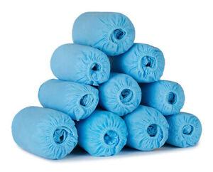 Wholesale 1000pcs Disposable Shoe Covers Non Woven Waterproof Dust proof Blue