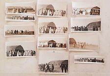 12 PHOTOS visite du Gal PETAIN et de CLEMENCEAU aux escadrilles.Mont de Soissons