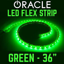 """ORACLE 36"""" LED Flex Strip SMD Underbody, Engine Bay Lighting Retail Pack - GREEN"""