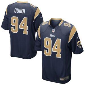 💯% GENUINE Robert Quinn Los Angeles Rams Nike Game Jersey - Navy Large