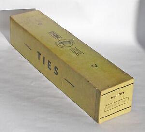 Hawk Model Company O Scale Wood Ties - Qty: 1000 +/-