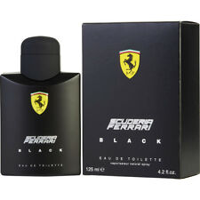 SCUDERIA FERRARI BLACK 125ml EDT SPRAY FOR MEN BY FERRARI ---------- NEW PERFUME