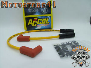 Harley Davidson - Accel 8.0 S/S Ferro-Spiral Core Ignition Yellow Dyna 1999-2008