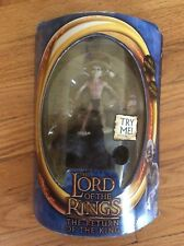 2003, THE LORD OF THE RINGS (THE RETURN OF THE KING),  SMÉAGOL FIGURE, TOY BIZ