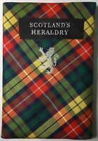 SCOTLAND'S HERALDRY Illustrated Softcover by C.R. MacKinnon 1st Ed. 1962