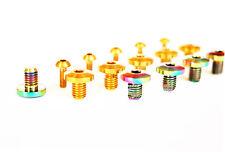 4pc/1set Titanium bolts for shimano xt series oil brake Cylinder cap & Oil hole