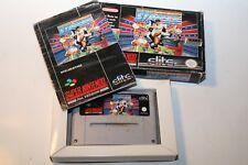 World Cup Striker - Super Nintendo SNES Modul + Hülle + Anleitung