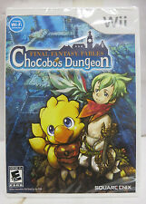 Nintendo Wii Final Fantasy Fables: Chocobo's Dungeon (Wii, 2008) NEW