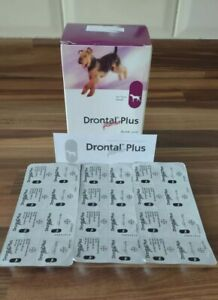 Dog Worming 8 Tablets One Tablet Per 10kg