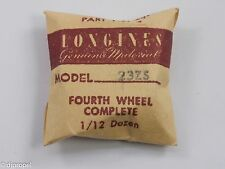 Longines Genuine Material Part #4 4th Wheel & Pinion for Longines Cal. 23ZS
