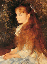 Auguste Renoir [Portrait of Mademoiselle Irene Cahan d'Anvers] 1000 pcs Jigsaw