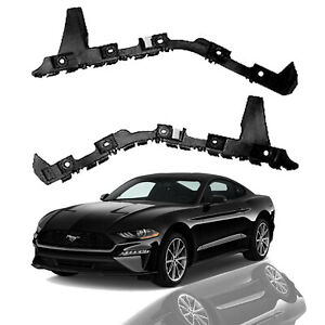 For 2015 2016 2017 Ford Mustang Rear Bumper Side Cover Brackets Pair Left Right