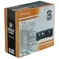 MINI AMPLIFICATEUR PYLE PVA2 220 VOLT RCA AUX CD KARAOKE MUSIQUE POUR