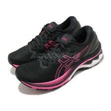 Asics GEL-KAYANO 27, черный, розовый, белый, женская беговая обувь, кроссовки 1012A649-003