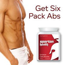 Spartan salute extreme Carb Blocker Pillole dieta Carb Binder Tablet vedere Muscoli