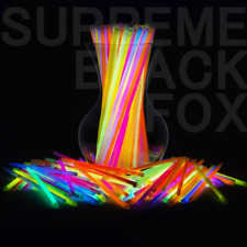 100/300 Glow Sticks Bulk Party Supplies -Glow in The Dark Fun Party Pack with 8