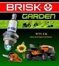 1x Brisk JR19 Upgrade Petrol,Gasoline Spark Plug for Lawnmowers Strimmers, chain