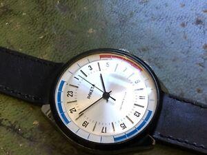 PAKETA Russian CCCP Mens Large Face Watch NON RUNNER, Mechanical, 24 Hour Dial