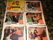 #8930,Vintage Rare Set Colored Movie Lobby Cds,Topper,Cary Grant,1937