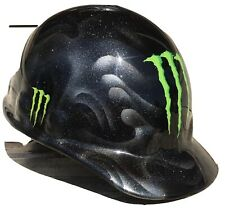 Custom Painted Construction / Factory Safety Hard Hat Size 54-65cm Monster Hat