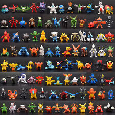 LOTS 144PC Pokemon Toys Mini Action Figure Pokémon Go Monster Xmas Gift 0.7-1.2""