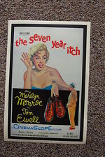 The Seven Year Itch #2 Lobby Card Movie Poster Marilyn Monroe Tom Ewell