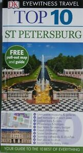 TOP 10 ST PETERSBURG RUSSIA TRAVEL GUIDE LIKE NEW PUBLISHED BY EYEWITNESS TRAVEL