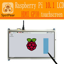 10.1 inch resistive touchscreen HDMI LCD biger than 5inch/7inch for Raspberry pi