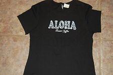 Aloha Kauai Coffee Womens Hawaii T- Shirt womens Large  NWT