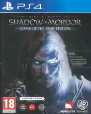 Middle Earth Shadow of Mordor GOTY- PS4 neuf sous blister VF