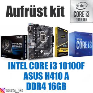 🅸🅽🆃🅴🅻 Core i3 10100F ● ASUS H410 Mainboard ● 16GB RAM ● Intel Bundle Kit