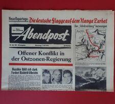Abendpost vom* 7. Juli 1953 *MACHTKAMPF IN  OSTZONE / EXPEDIT. NANGA PARBAT A 86