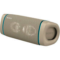 Sony SRS-XB33 Portable Rechargeable Waterproof Bluetooth Speaker  - Taupe